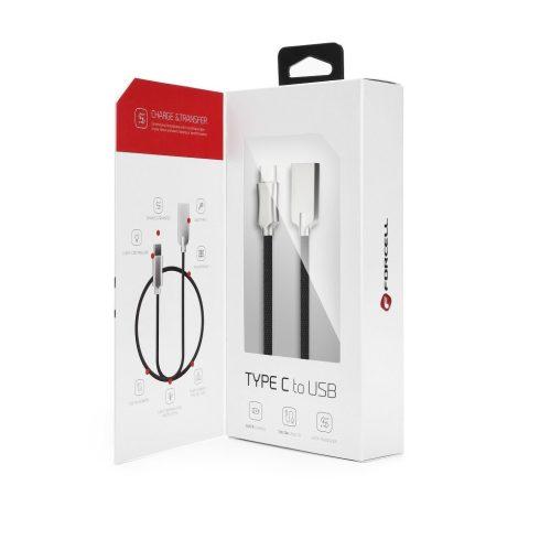 Forcell Clever Type C USB adat és gyorstöltést támogató kábel