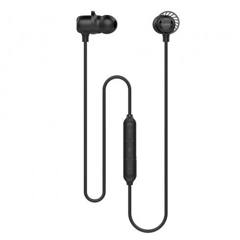 UiiSii BT-118 Bluetooth sztereó fülhallgató, fekete, IPX5