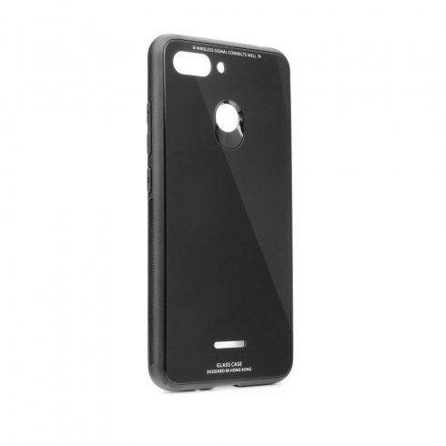 Forcell Glass Xiaomi Redmi Note 7 üvegfelületű tok, fekete