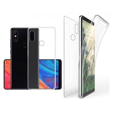 Xiaomi Redmi Note 7 360° fokos átlátszó szilikon védőtok