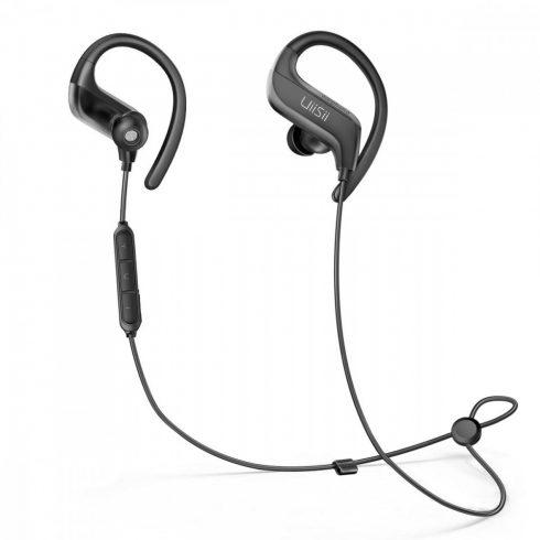 UiiSii BT-100 Bluetooth sport sztereó fülhallgató, fekete