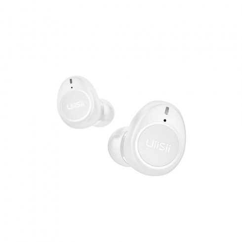 UiiSii TWS60 Bluetooth sztereó headset, fehér, IPX5