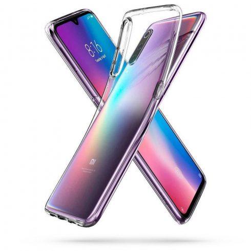 SPIGEN Liquid Crystal Xiaomi Mi 9 flexibilis TPU tok, átlátszó