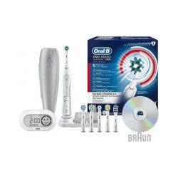 Oral-B Pro 6000 D36.565.5x elektromos fogkefe 6 db fogkefefejjel