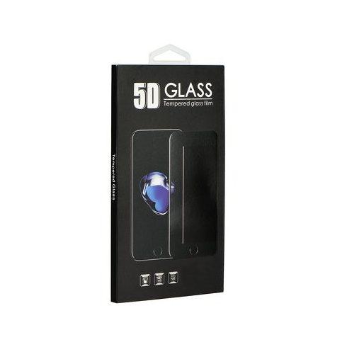 Xiaomi Redmi 8/8A full,íves,hajlított kijelzővédő üvegfólia 5D, fekete