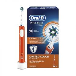 Oral-B Pro 400 narancs elektromos fogkefe