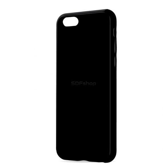Xiaomi Redmi 4a fekete MATT vékony szilikon tok
