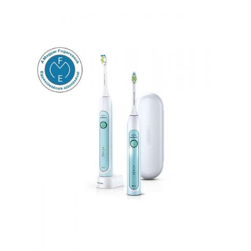 Philips Sonicare HealthyWhite HX6732/37 két darab szónikus elektromos fogkefe